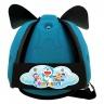 Nón bảo vệ đầu cho bé Babyguard - logo Doraemon 2 xanh ngọc