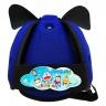 Nón bảo vệ đầu cho bé Babyguard - logo Doraemon 3 xanh dương