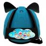 Nón bảo vệ đầu cho bé Babyguard - logo Doraemon 3 xanh ngọc