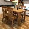 Bộ bàn ăn IBIE 4 ghế Sherwood gỗ sồi