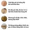 Giường ngăn kéo Cuba gỗ sồi - IBIE