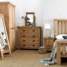 Giường Rustic gỗ sồi - IBIE