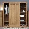Tủ quần áo cửa lùa Ibie SDR2O gỗ sồi 1m8