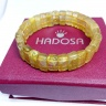 Vòng thạch anh tóc vàng bản 12-14mm chuẩn 5A Hadosa - NSBGR014S13
