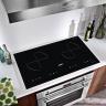 Bếp từ đôi cảm ứng KAFF KF-073II  tặng hút mùi và bộ nhà bếp cao cấp