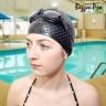 Kính bơi thời trang cao cấp 2360, mắt kính trong, chống UV, chống hấp hơi POPO Collection (Đen)