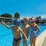Nón bơi trẻ em - mũ bơi trẻ em POPO Collection (Xanh biển)