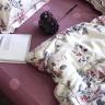 Bộ chăn ga gối cotton lụa cao cấp CZN 16-Purple (order) - Cozino