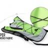 Balo xe đạp, túi xe đạp thoáng khí, nhẹ, chất liệu cao cấp POPO Collection (Xanh lá)