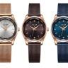 Đồng hồ nữ Julius JA1040 dây thép xanh