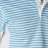 Áo thể thao cầu lông nam Dunlop - DABF10012-1C-WB (Trắng xanh)