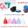 Cốc nguyệt san Ruby Cup - Nhập khẩu chính hãng từ Anh (màu hồng, size S)