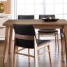 Bộ bàn ăn 4 ghế IBIE Zodax màu walnut