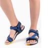 Giày sandal nam nữ 2 quai ngang hiểu Vento NV4538Ch