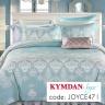 Drap Kymdan Joyce 160 x 200 cm (drap + áo gối nằm + vỏ mền) JOYCE471