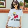 Áo phông họa tiết bugdog - AT180006