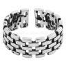 Nhẫn lego stone - Tatiana - NH2347 (Bạc đen)