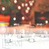Chân đế nến tealight Eden Go Round Candle hoa hồng nhỏ tặng kèm 10 nến