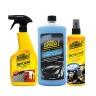 Combo giặt nệm khử mùi dạng xịt-Nước rửa xe có chất đánh bóng cao cấp-Chất bảo dưỡng 2 trong 1 hương tự nhiên Formula 1