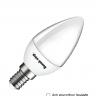 Bộ 03 đèn led nến Điện Quang ĐQ LEDCD03 02727 (2W warmwhite chụp mờ)