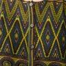 Đầm nữ cổ tròn tay bèo Kassun vàng