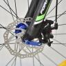 Xe đạp địa hình thể thao Fornix M600 - Đen bạc