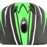 Nón bảo hiểm thể thao trẻ em Fornix A03NM28S đen xanh lá