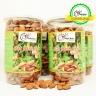 Combo 4 hộp hạnh nhân Mỹ tách vỏ nướng smile nuts (500g/hộp)