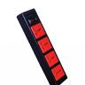Ổ cắm Điện Quang ECO ĐQ ESK 5BR 43ECO (4 Lỗ 3 chấu, dây dài 5m, màu đen đỏ)