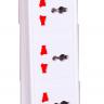 Ổ cắm Điện Quang ĐQ ESK 5W DBW103USB ( kiểu tàu siêu tốc ,3 lỗ 3 chấu, 2 USB, dây dài 5m)