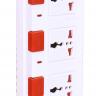 Ổ cắm Điện Quang ĐQ ESK 5B. SM740SL (4 lỗ 3 chấu dây 5 mét màu Đen Trắng Đỏ)