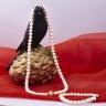 Opal - Bộ trang sức ngọc trai khoen xi vàng_T12