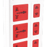 Ổ cắm Điện Quang ECO ĐQ ESK 5WR 6ECO (6 Lỗ, dây dài 5m, màu trắng đỏ)