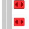 Ổ cắm Điện Quang ECO ĐQ ESK 5WR 32 ECO (3 lỗ 2 chấu, dây dài 5m, màu trắng đỏ)