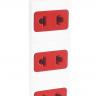 Ổ cắm Điện Quang ECO ĐQ ESK 5WR 62ECO (6 Lỗ 2 chấu, dây dài 5m, màu trắng đỏ)