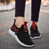Rozalo RM5108-Giày thể thao nam vải dệt siêu thoáng có dây buộc