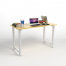Bộ bàn Rec-T trắng 1m2 và ghế Eames trắng - IBIE