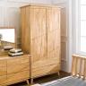 Tủ quần áo Ixora gỗ cao su 1m - Cozino