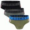 Combo 3 quần lót Relax nam RLTK006 (Màu ngẫu nhiên)