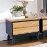 Tủ ngăn kéo Lantana 2 hộc gỗ cao su - Cozino