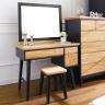 Bộ bàn trang điểm Lantana gỗ cao su - Cozino
