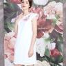 Đầm suông vẽ hoa-AD170360