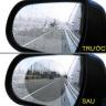 Miếng dán gương chống bám nước, chống lóa trên kính chiếu hậu ô tô