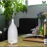 Combo máy xông khuếch tán tinh dầu gốm trắng FX2015 + sả chanh + bưởi + cam Lorganic (10ml x3) LGN0162