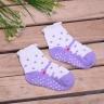 Combo 5 đôi vớ in chống trượt hình giày cho bé gái size SS (Từ 1 - 2 tuổi)