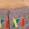Combo 5 đôi vớ in chống trượt cao cấp cho bé trai size SS