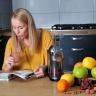 Máy ép trái cây Philips HR1897 (bạc) - hàng nhập khẩu