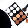 Bảng tạo khối & highlighter 6 màu Absolute NewYork Ahc02 Tan To Deep