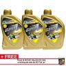Combo 3 chai nhớt xe tay ga BCP Thái Lan nhập khẩu – SUPER 1 – 10W40 SL – 0.8 lít tặng dung dịch vệ sinh buồng đốt xe máy nhập khẩu Thái Lan - BCP S ULTRA - 60ml