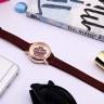 Đồng hồ nữ Julius Hàn Quốc dây da JA-1000 (5 màu)